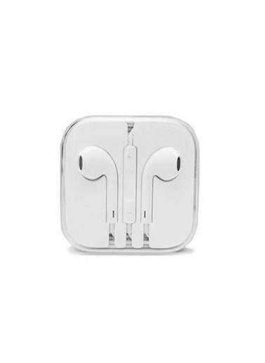 Dalki Apple İphone 6/6S/6 Plus-5/5S/5C/5Se-4/4S/-3/3Gs/3G Uyumlu Kulaklık - Beyaz Renkli